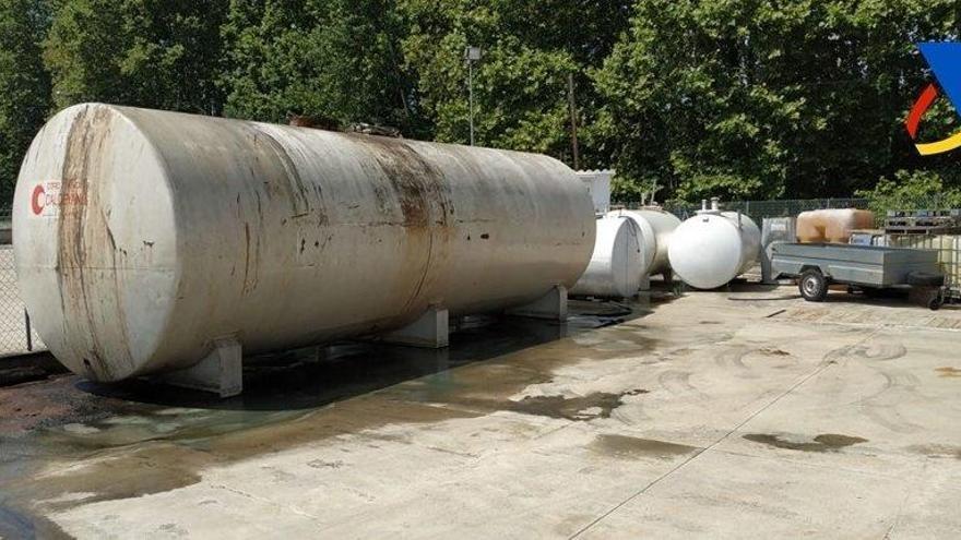 Hacienda destapa un fraude de 11 millones en venta de gasóleo modificado