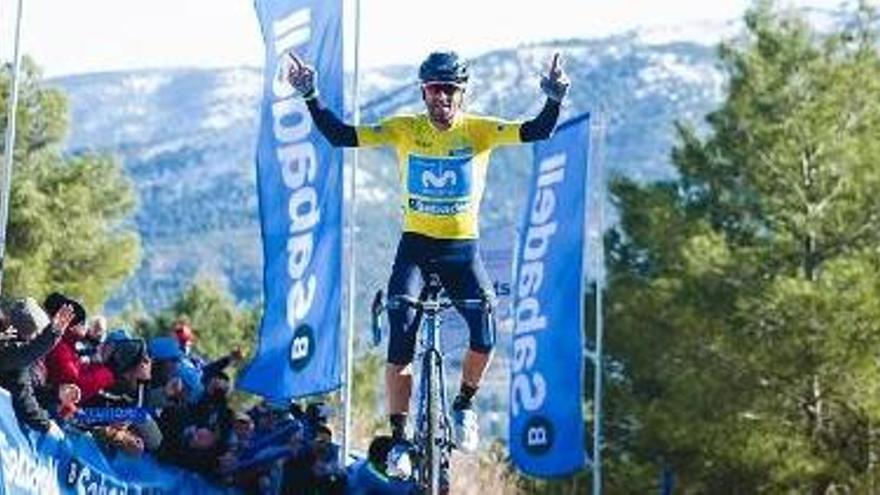 Valverde gana la etapa reina de la Volta a Valencia