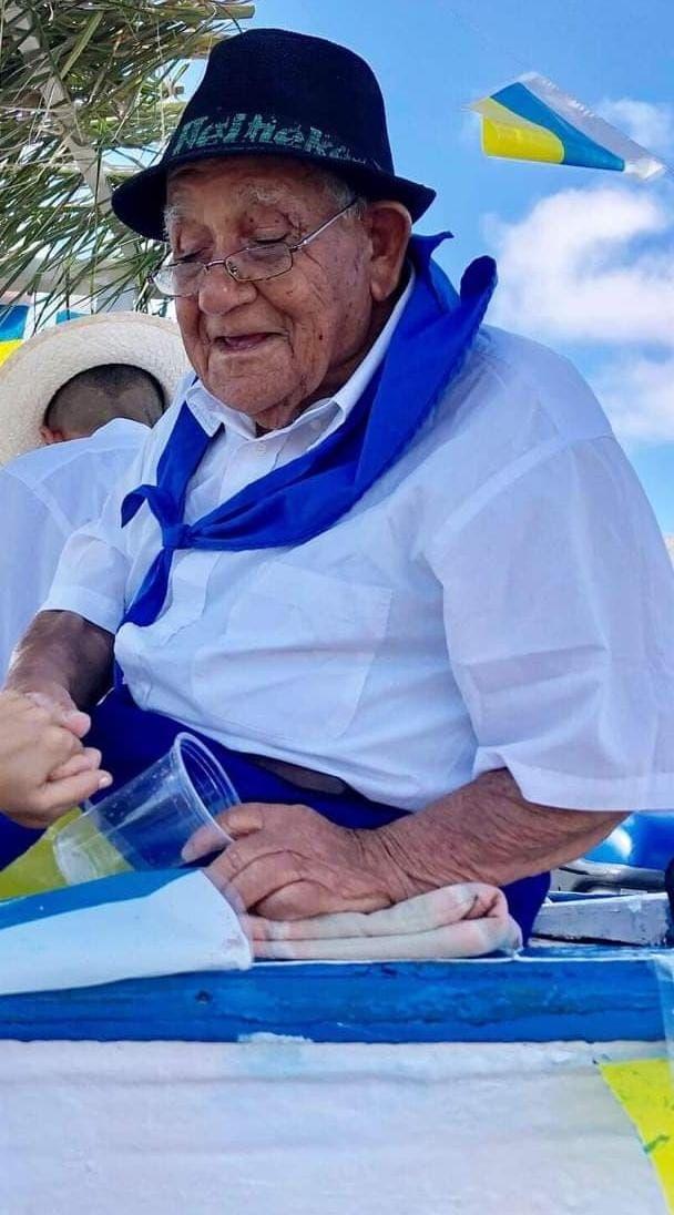 Daniel Olivero Hernández fallece a los 92 años de edad en La Santa (26/08/2021)