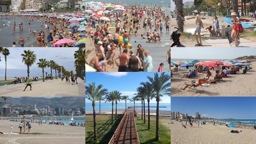 Calendario de actividades en las playas de Castellón