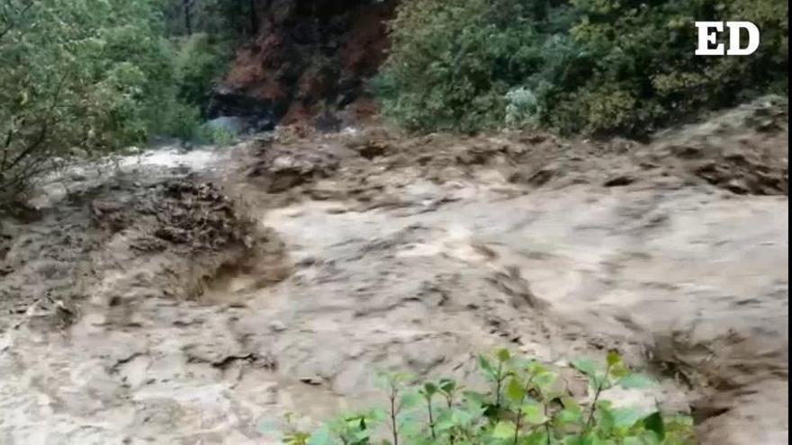 La cola de la tormenta 'Bárbara' llega a La Palma con fuertes lluvias