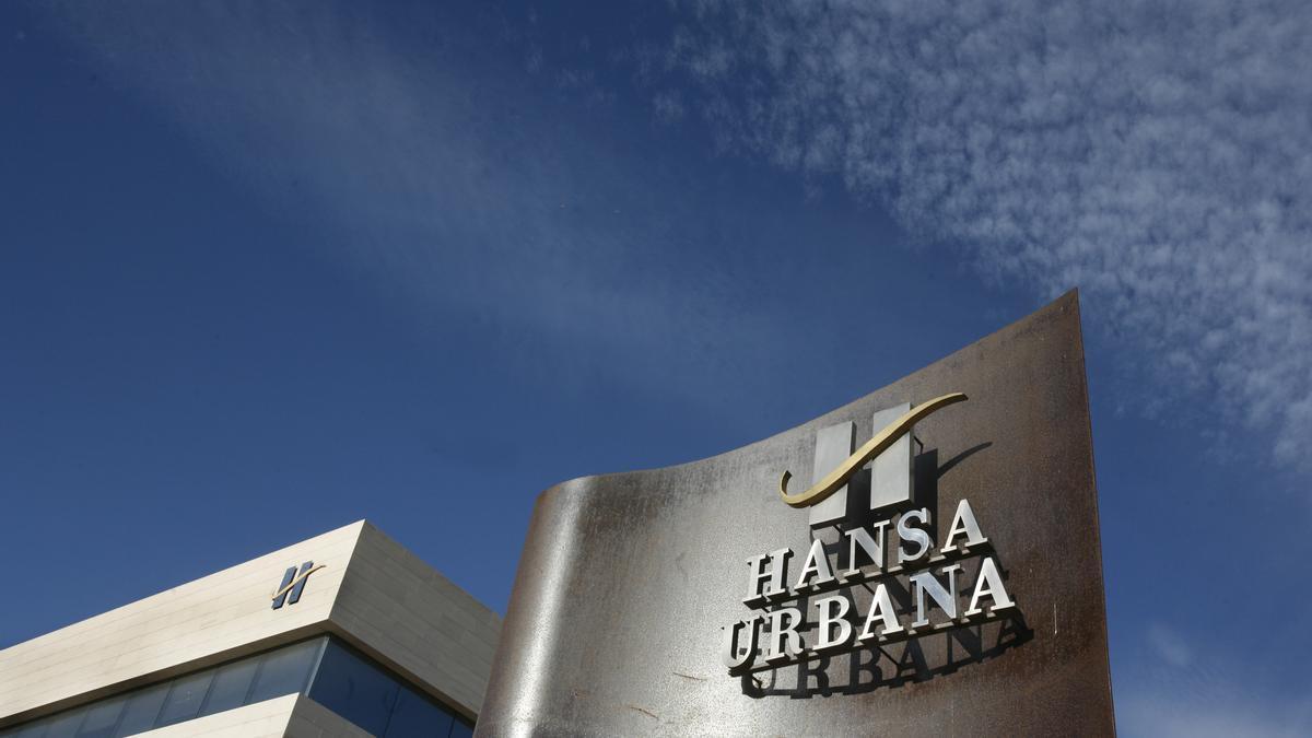 Imagen de archivo de la sede de Hansa Urbana en Alicante.