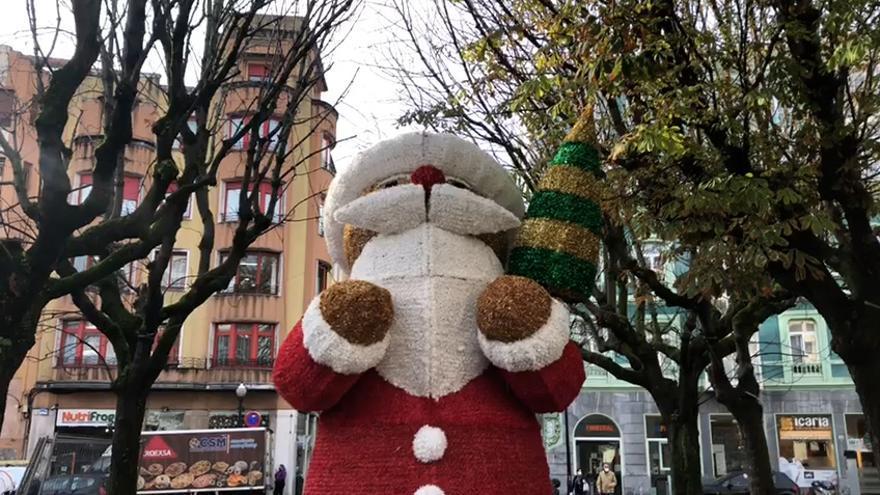 Así será la iluminación navideña de Gijón