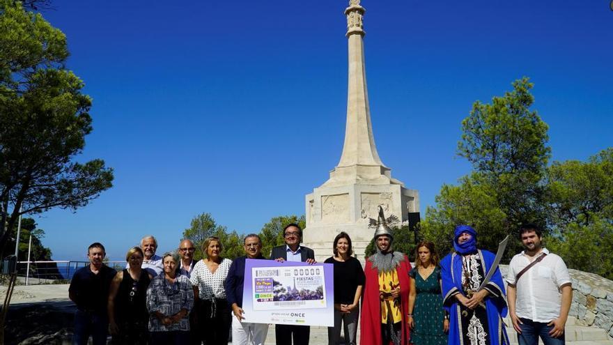 La ONCE dedica un cupón a las fiestas del Rei en Jaume de Santa Ponça