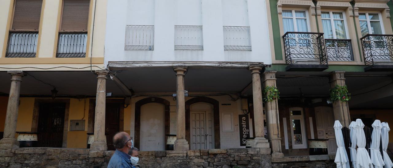 La calle Galiana de Avilés