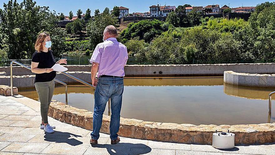 Las termas de Salvaterra son las primeras de Galicia con autorización de uso lúdico