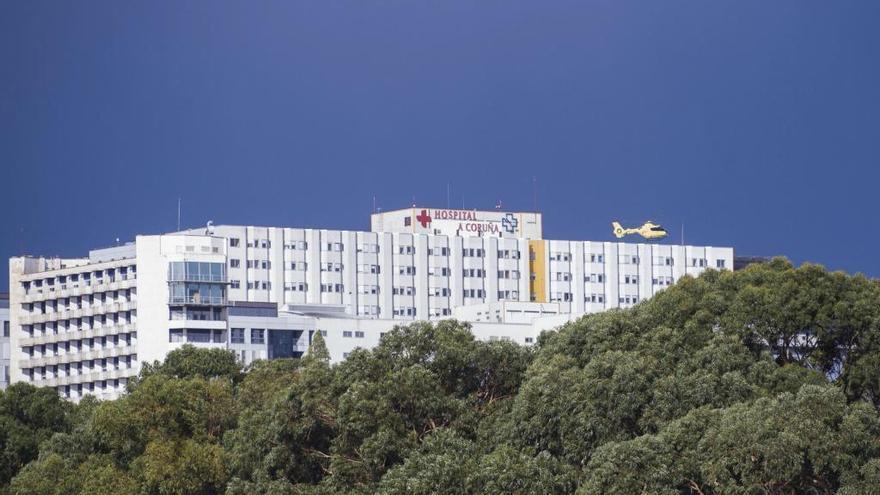 El hospital de A Coruña se ampliará en su actual ubicación