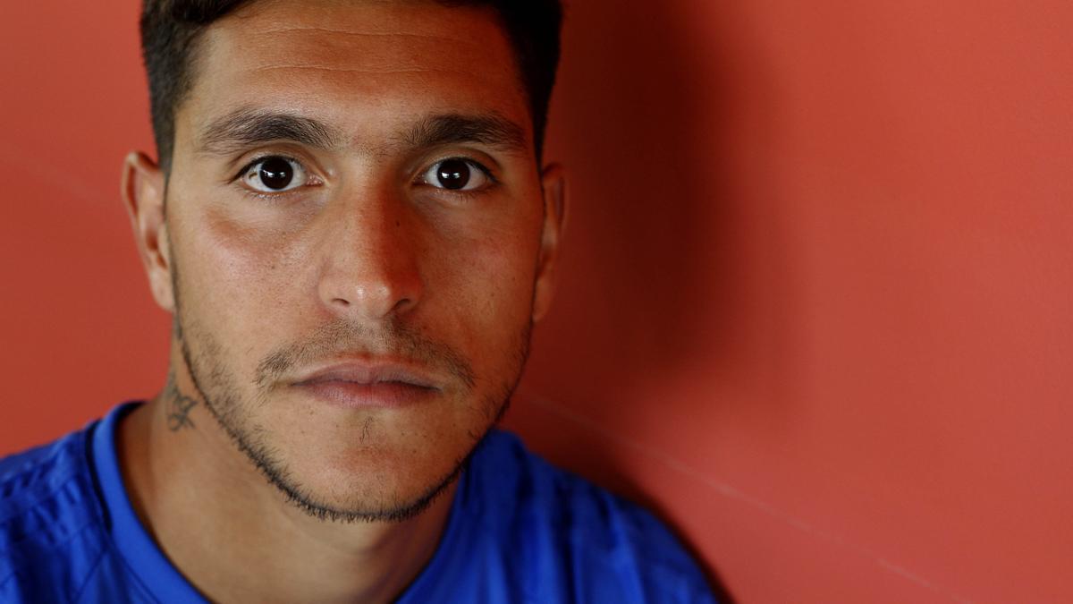 Jesús Valentín, en su etapa como jugador del Real Zaragoza.