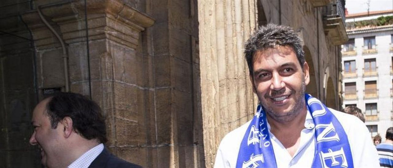 Jorge Menéndez Vallina y Arturo Elías.