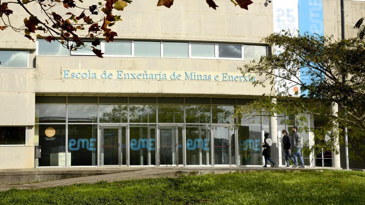 Instalaciones de la Escuela de Ingeniería de Energía y Minas.