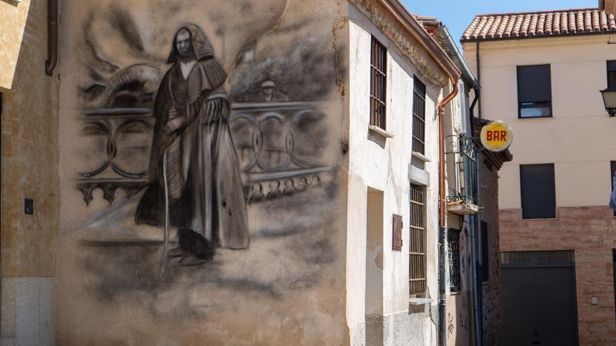 La Zamora de los murales, en minuto y medio