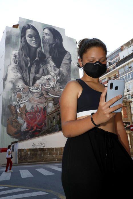 El arte urbano de Lula Goce por el mundo. // FDV
