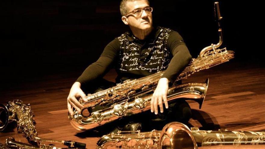 Capellino lanza un trabajo que aúna saxofón y poesía