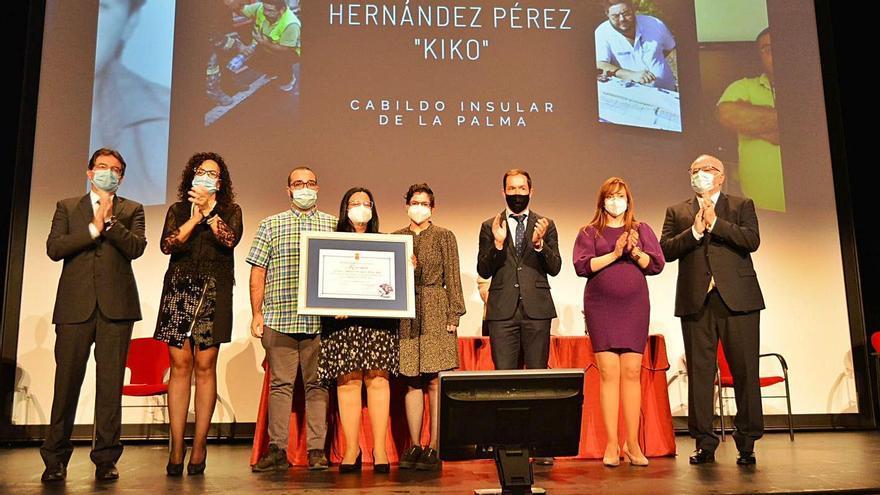 El Cabildo de La Palma rinde homenaje a la  memoria del coordinador del Cecopin