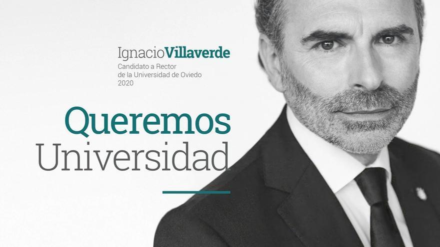 La Universidad de Oviedo entra en campaña electoral: Ignacio Villaverde: candidato a rector