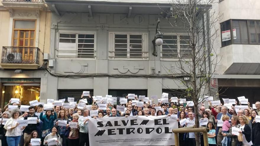 Cs exige que el edificio Metropol se declare Bien de Relevancia Local