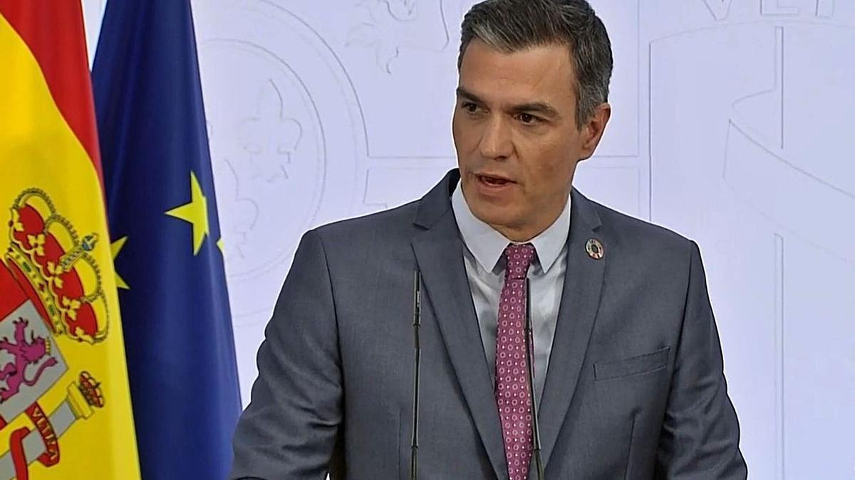 Sánchez aposta pel «diàleg i el retrobament» entre Catalunya i la resta d'Espanya.   EUROPA PRESS