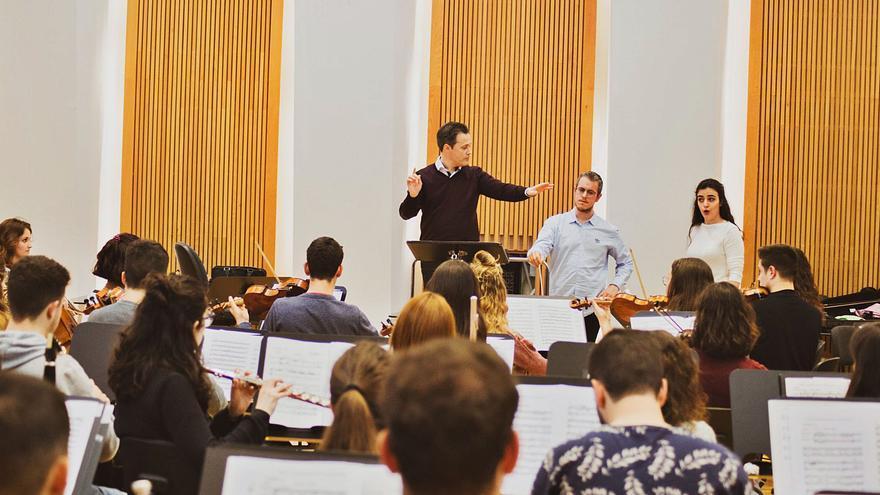 La Jove Orquestra Simfònica de la FSMCV torna a l'activitat en el Palau de les Arts
