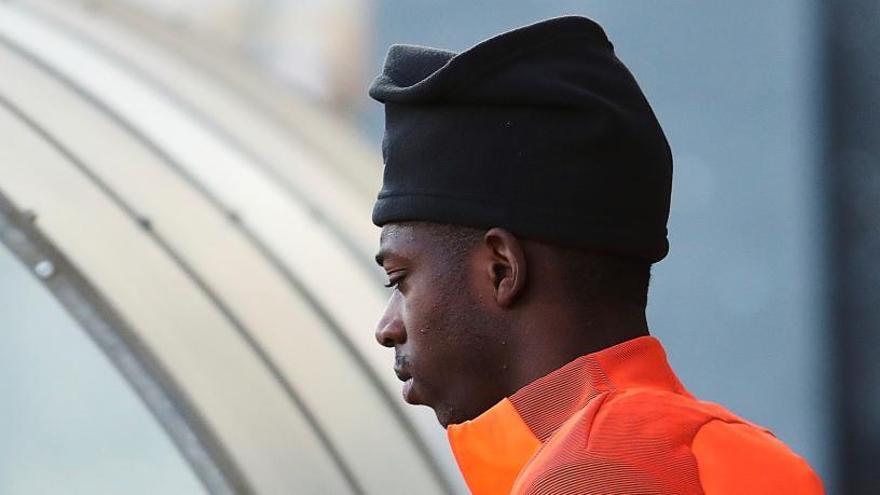 Dembélé comença a participar en els exercicis grupals de l'equip
