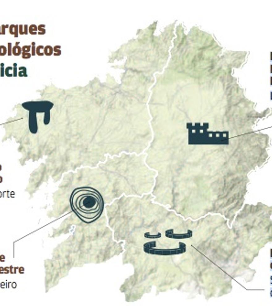 Parques arqueológicos de Galicia