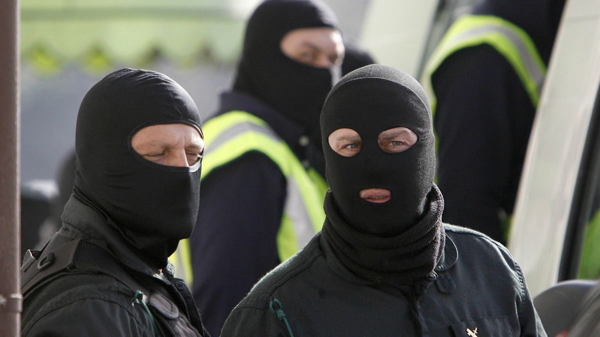 Imagen de archivo de una operación de la Guardia Civil.