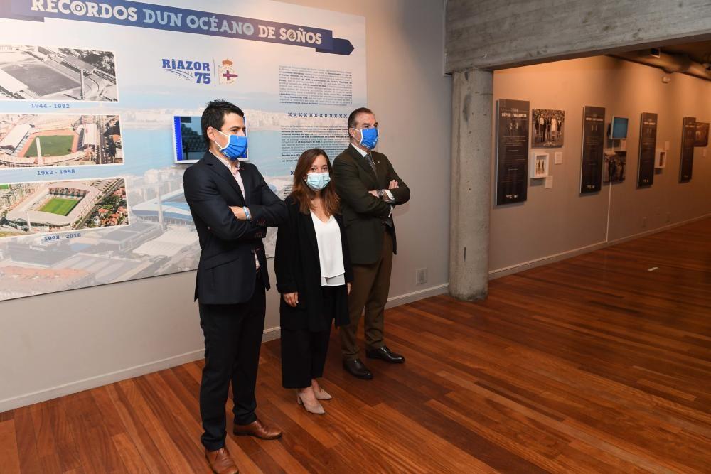 ''Riazor 75: Recordos dun océano de soños''