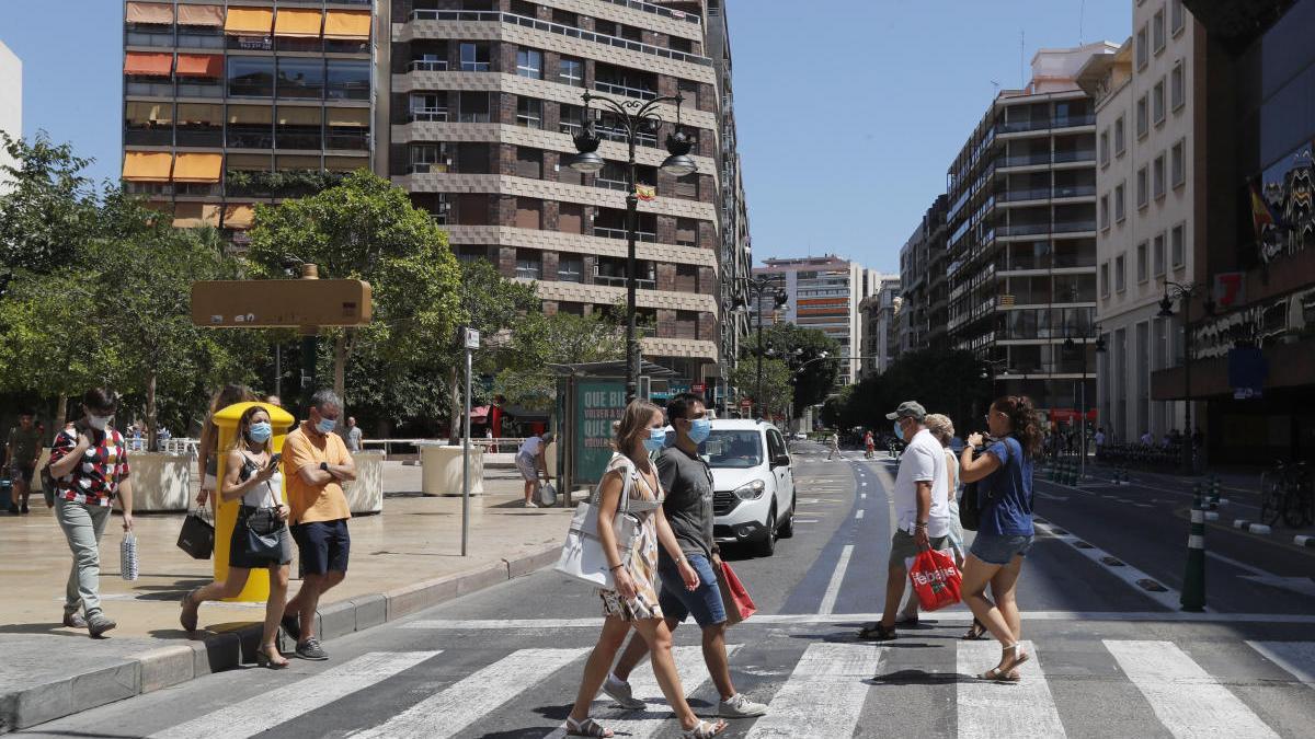 La C. Valenciana registra  el mayor número de casos nuevos desde el 30 de abril
