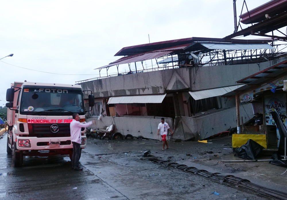 Al menos cuatro muertos por terremoto de 6,8 en el sur de Filipinas