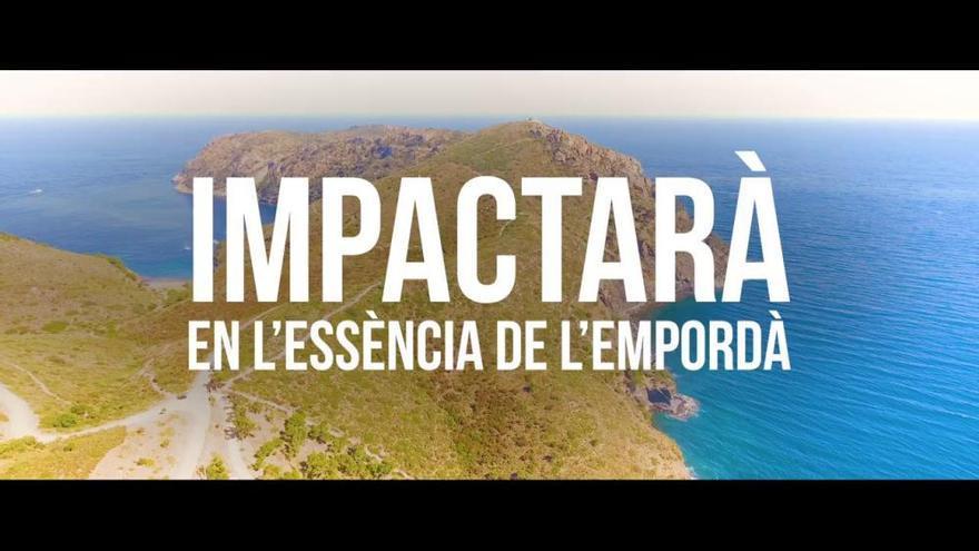 Denuncien amb un vídeo l'impacte negatiu del parc eòlic marí Tramuntana
