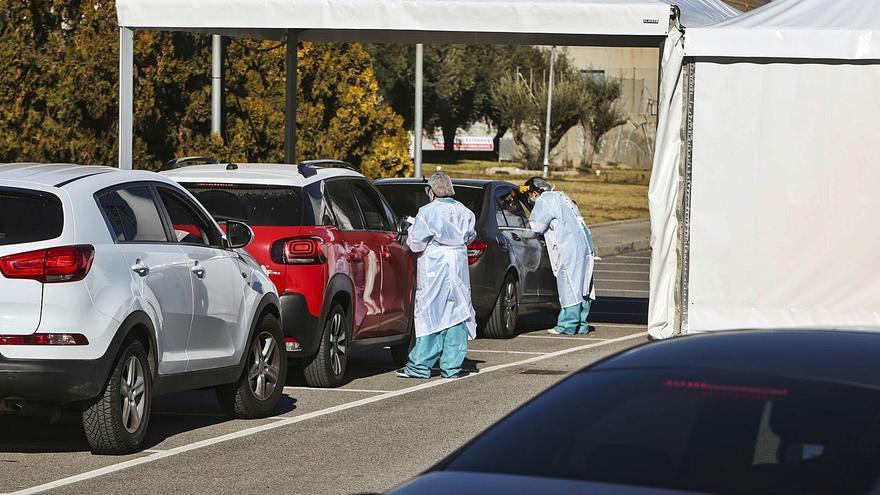 La incidencia del virus empieza a bajar en la provincia después de multiplicarse por cinco en enero