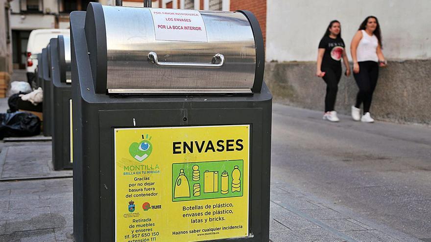 Montilla recicla cerca de 200 gramos por cada kilo de residuos