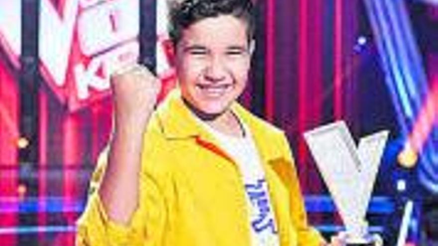 L'últim guanyador de «La Voz Kids» representarà Espanya a Eurovisió Júnior