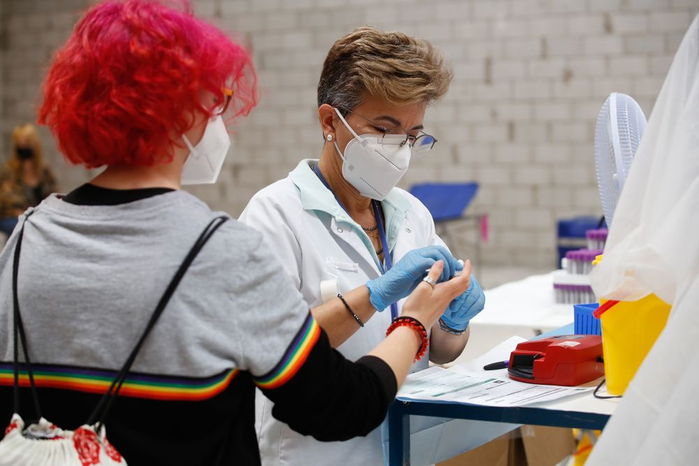 El centro comercial El Arcángel acoge un maratón de horas para donar sangre