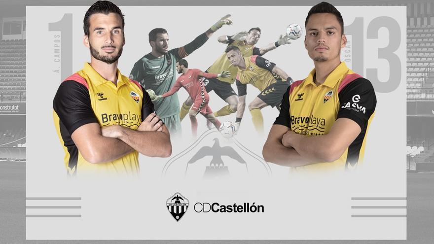 Whalley y Álvaro Campos, los 'parapenaltis' de Segunda A son del Castellón