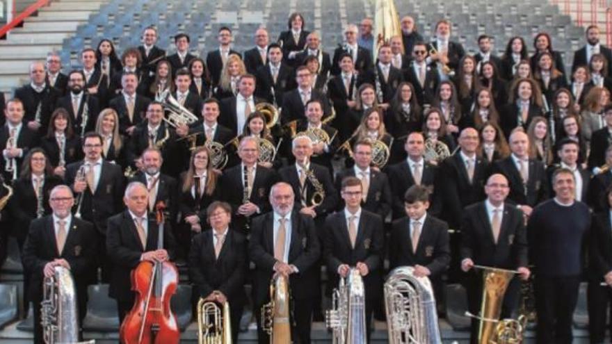 La Unión Musical de Crevillent celebra Santa Cecilia con un concierto en la Casa de Cultura