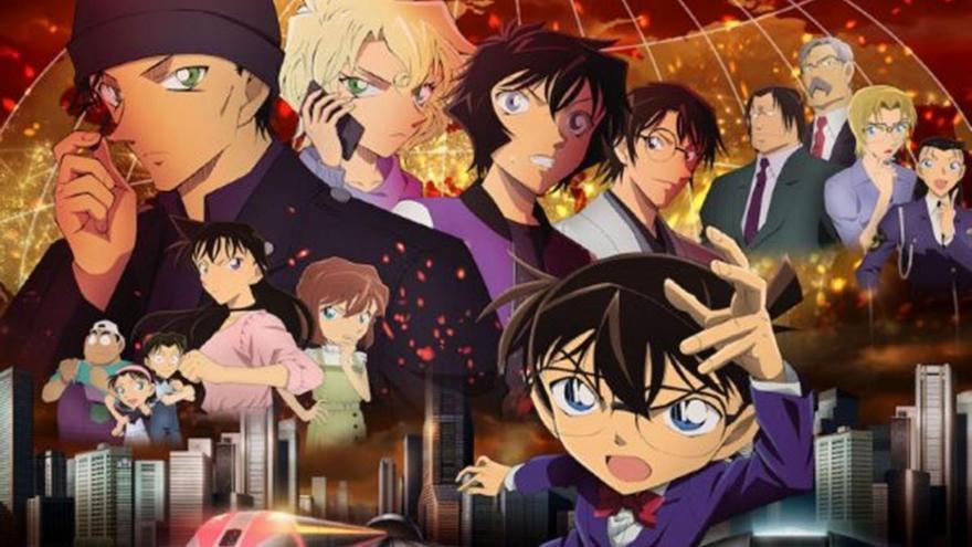 'Detective Conan: La bala escarlata': un anime sin compasión