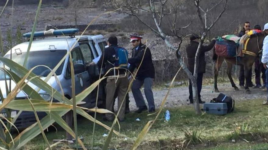 """Tres detenidos por el atentado """"extremista"""" en Marruecos contra las dos turistas"""