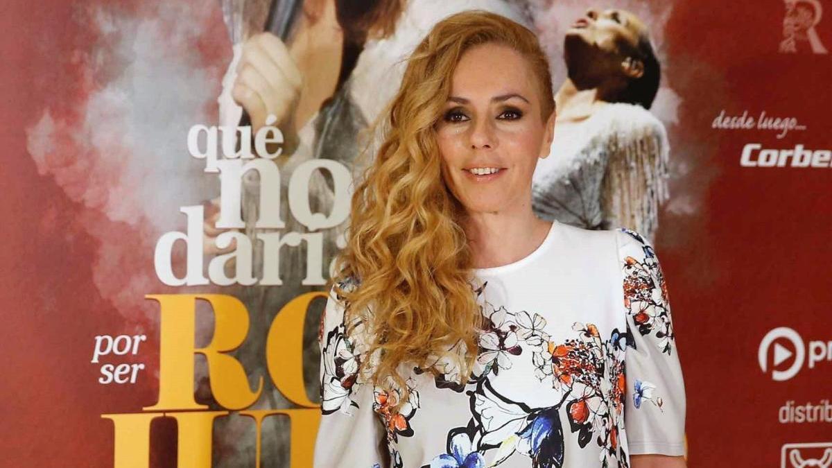 Una imagen de archivo de Rocío Carrasco.