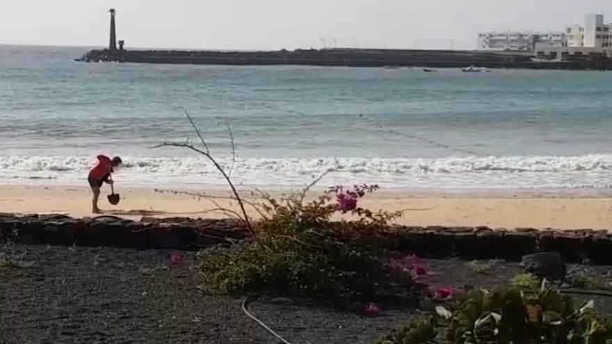 Calima y mar de fondo en Canarias para comenzar el fin de semana