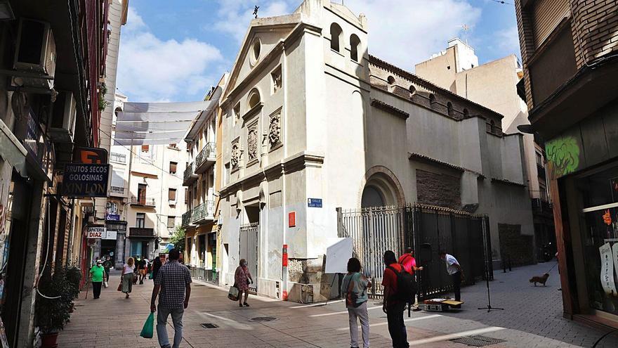 La Ermita del Pilar lucirá renovada en tres meses para reabrir como centro cultural