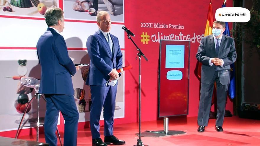 La empresa zamorana Moralejo Selección recoge el premio Alimentos de España