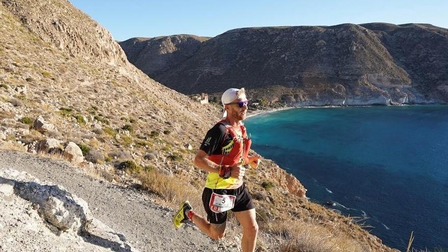 Rubén Heemskerk, campeón de la ultra maratón Costa de Almería