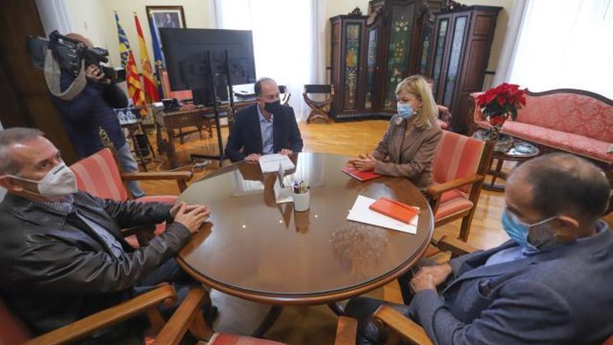 Orihuela cederá entre tres y cinco parcelas al Consell para que amplíe los juzgados