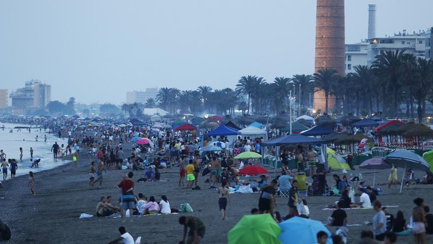 Málaga cerrará sus playas en la noche de San Juan