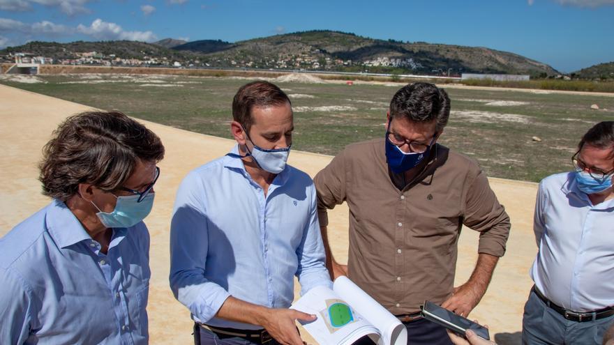 La Diputación compromete obras en Llíber y Benissa por 1,5 millones de euros