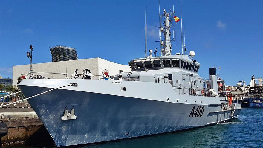 La Marina de Nigeria, en La Luz