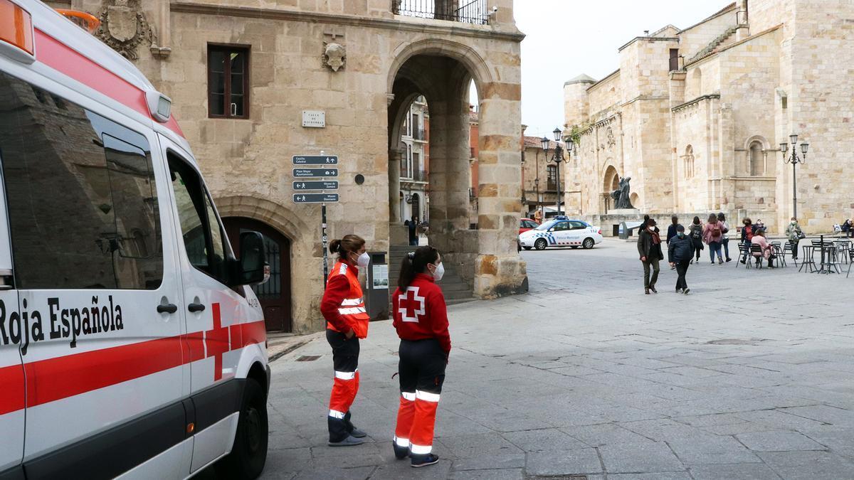 Operativo de Cruz Roja Zamora