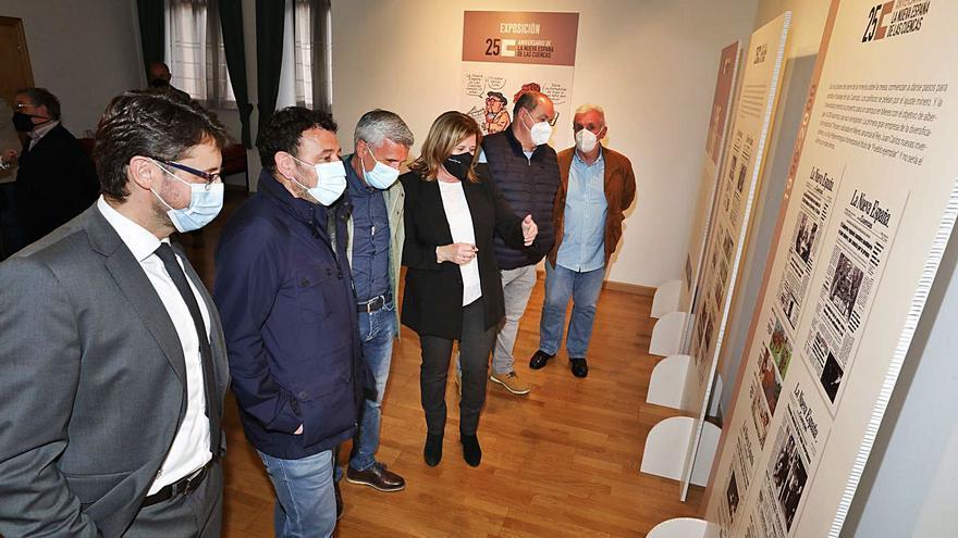 Moreda acoge desde hoy la exposición por el 25.º aniversario de LA NUEVA ESPAÑA de las Cuencas