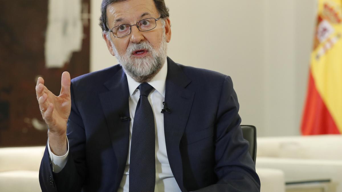 Mariano Rajoy, expresidente de España y ministro del Interior en el 2001.