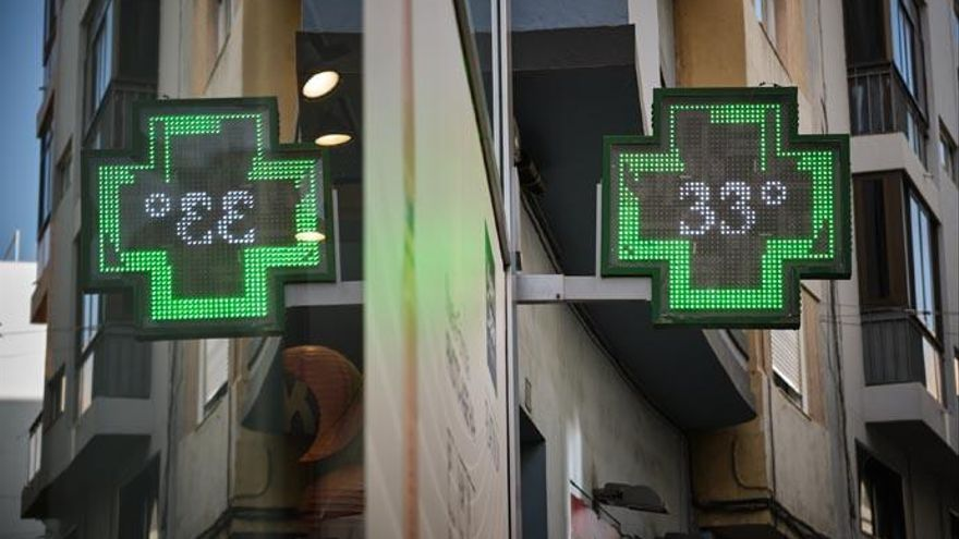 Tenerife estará este miércoles en prealerta por altas temperaturas